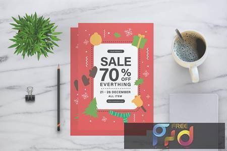 Christmas Sale Flyer 3PMZBQ 1