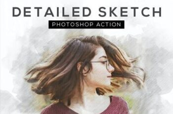 Detailed Sketch Photoshop Action 26435352 5