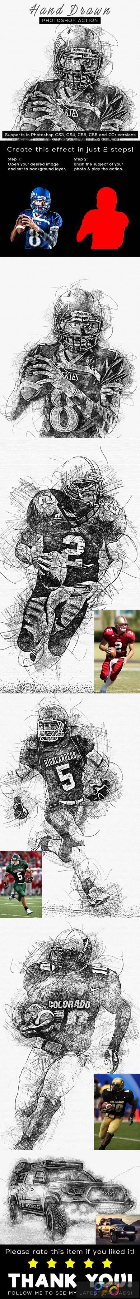 Hand Drawn Photoshop Action 26442003 1
