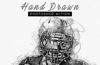 Hand Drawn Photoshop Action 26442003 3