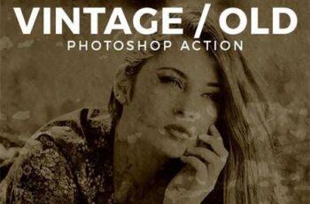 Vintage - Old Photo Effect 26444506 3