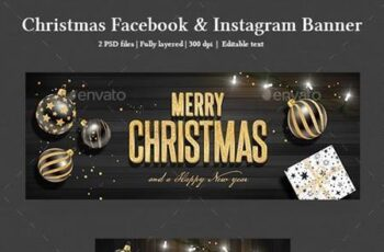 Christmas Facebook and Instagram Banner 22846372 5