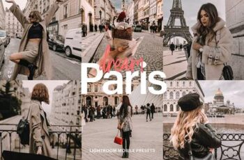 Lightroom Preset - Paris Dream 4976148 4