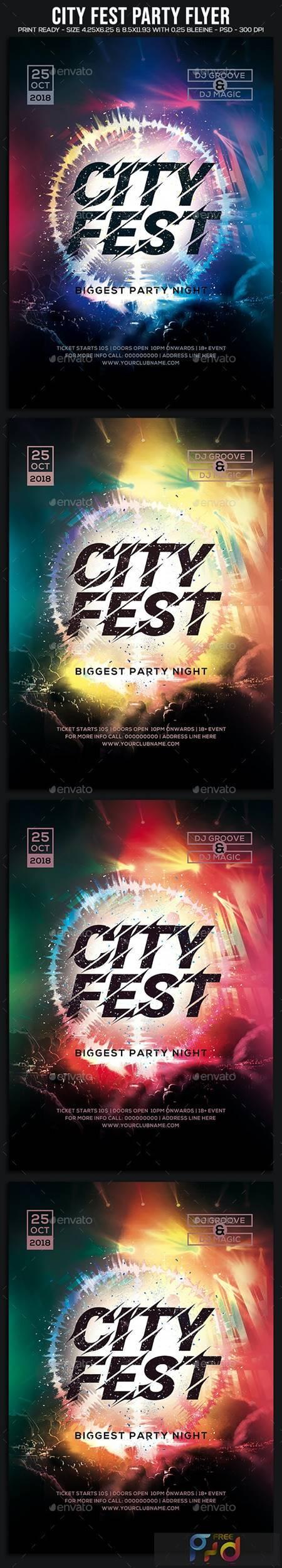City Fest Party Flyer 22855887 1