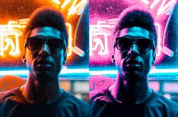 Supreme Neon - Premium Photoshop Action 27161588 2