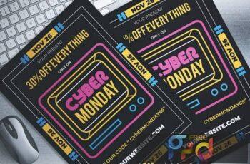 Cyber Monday Sale Flyer TL3FZ8 5