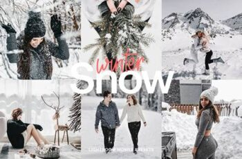 Lightroom Preset - Snow Winter 4976169 7