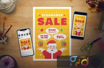 Christmas Sale Flyer Set JYZCD89 7