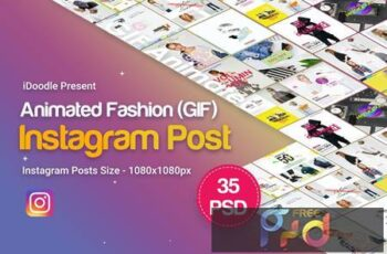 Fashion Instagram Animated Posts 6N9RRC 4