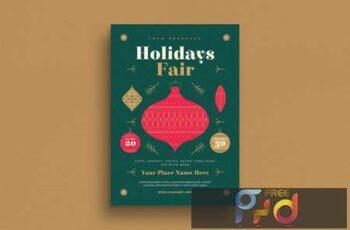 Holidays Fair Flyer YXD8J8 3