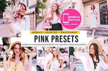 Pink Blogger Lightroom Presets 5123640 5