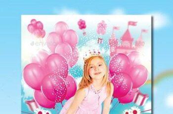 Princess Birthday Party Invitation 11752005 6
