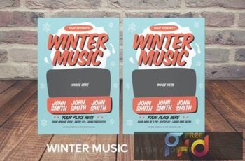 Winter Music Flyer CRVNBS 2