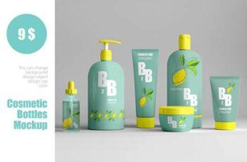 Cosmetic bottles mockup 4826434 5