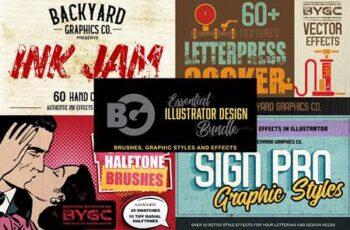 Essential Illustrator Design Bundle 4941833 4