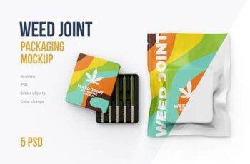 Weed Joint Packaging Mockup 4826343 6
