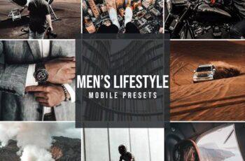 Mobile Lightroom Preset MENS LIFE 5054028 7