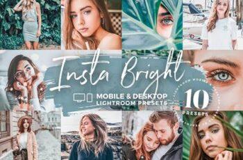 10 Insta Bright Mobile Presets 5143078 4