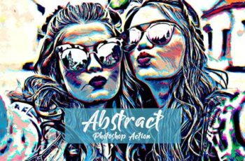 Abstract Photoshop Action 5143953 4