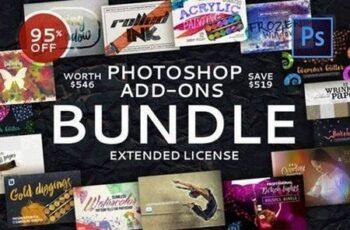 Photoshop Add-Ons Bundle 502575 4