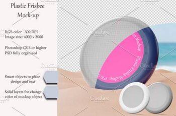 Plastic Frisbee Mockup 4911234 3