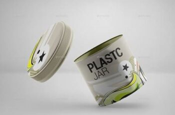 Plastic Jar Mockup 23991692 6