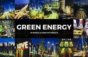 20 Green Energy Lightroom Presets 5178859 3
