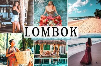 Lombok Mobile & Desktop Lightroom Presets 5175865 7