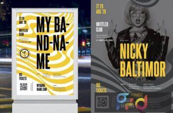 Concert - Band Poster Template LPN2AJ5 4