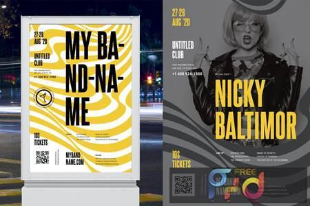 Concert - Band Poster Template LPN2AJ5 1