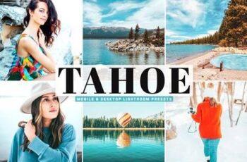 Tahoe Mobile & Desktop Lightroom Presets 5166241 6