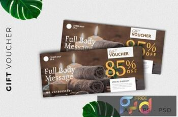 Gift Voucher Card Promotion U4H7DK7 2