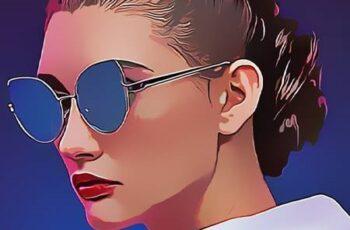 Magazine Art - Cartoon Painting Photoshop Action 26525951 6