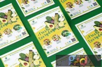 Smoothie Food Flyer 9QVREXE 2