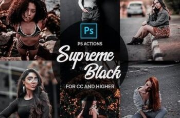 Supreme Black - Photoshop Actions 26511856 2