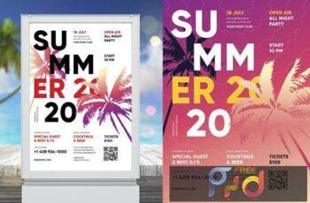 Summer Poster Template HJCEAKJ 6