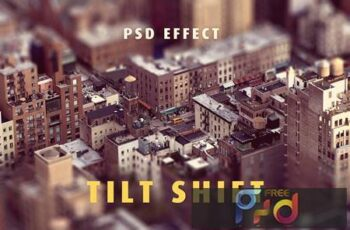 Tilt - Shift Lens Effect MMAQYR8 2