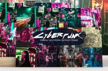Cyberpunk Lightroom Presets 5199220 7