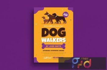 Dog Walkers Flyer 8GE3FF 3