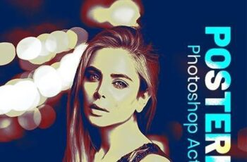 Posterize Photoshop Action 26607751 2