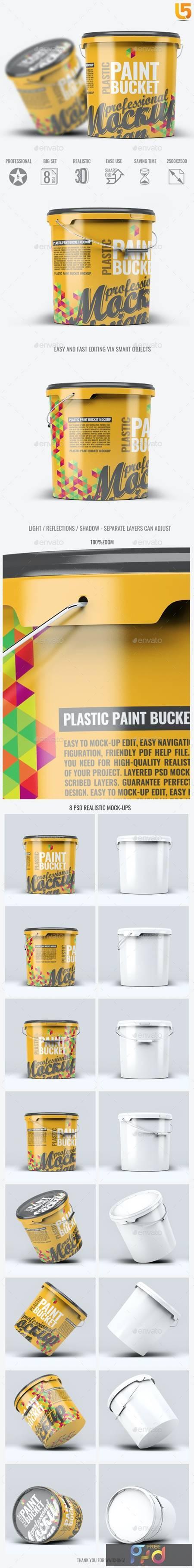 Plastic Paint Bucket Mock-Up 22858149 1
