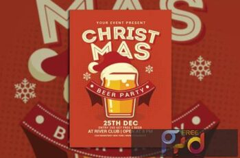 Christmas Beer Party 7ADFSX 5