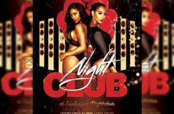 Club Night Flyer - Club A5 Template 20199 4