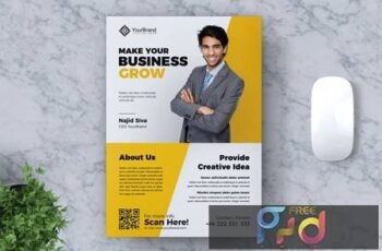 Corporate Business Flyers Vol. 10 HK26R7 3