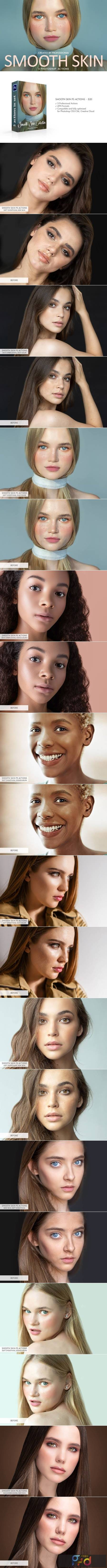Smooth Skin Photoshop Actions 4723022 1