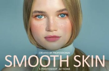 Smooth Skin Photoshop Actions 4723022 2