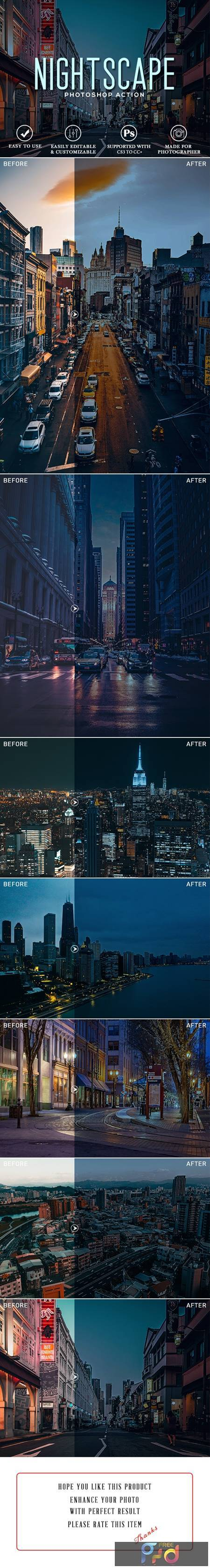 Nightscape Photoshop Action 27482491 1