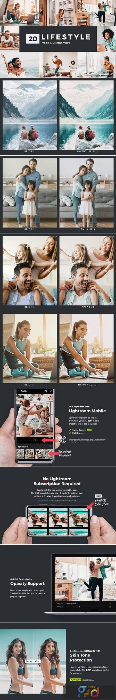 20 Lifestyle Lightroom Presets and LUTs 5200646 1