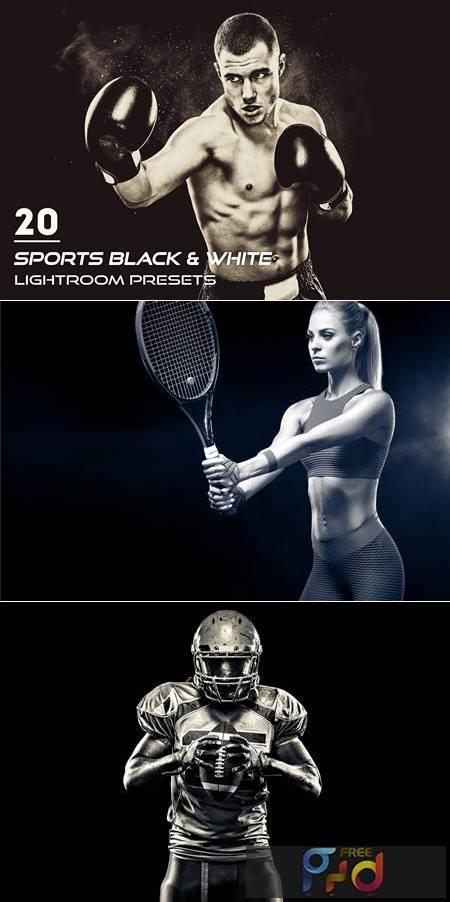 20 Sports Black & White Presets 3900393 1