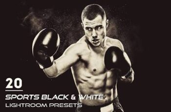 20 Sports Black & White Presets 3900393 4